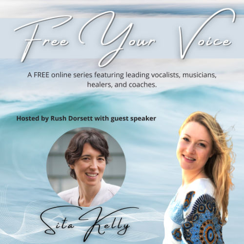 Sita Kelly on the Free Your Voice podcast with Ruch Dorsett